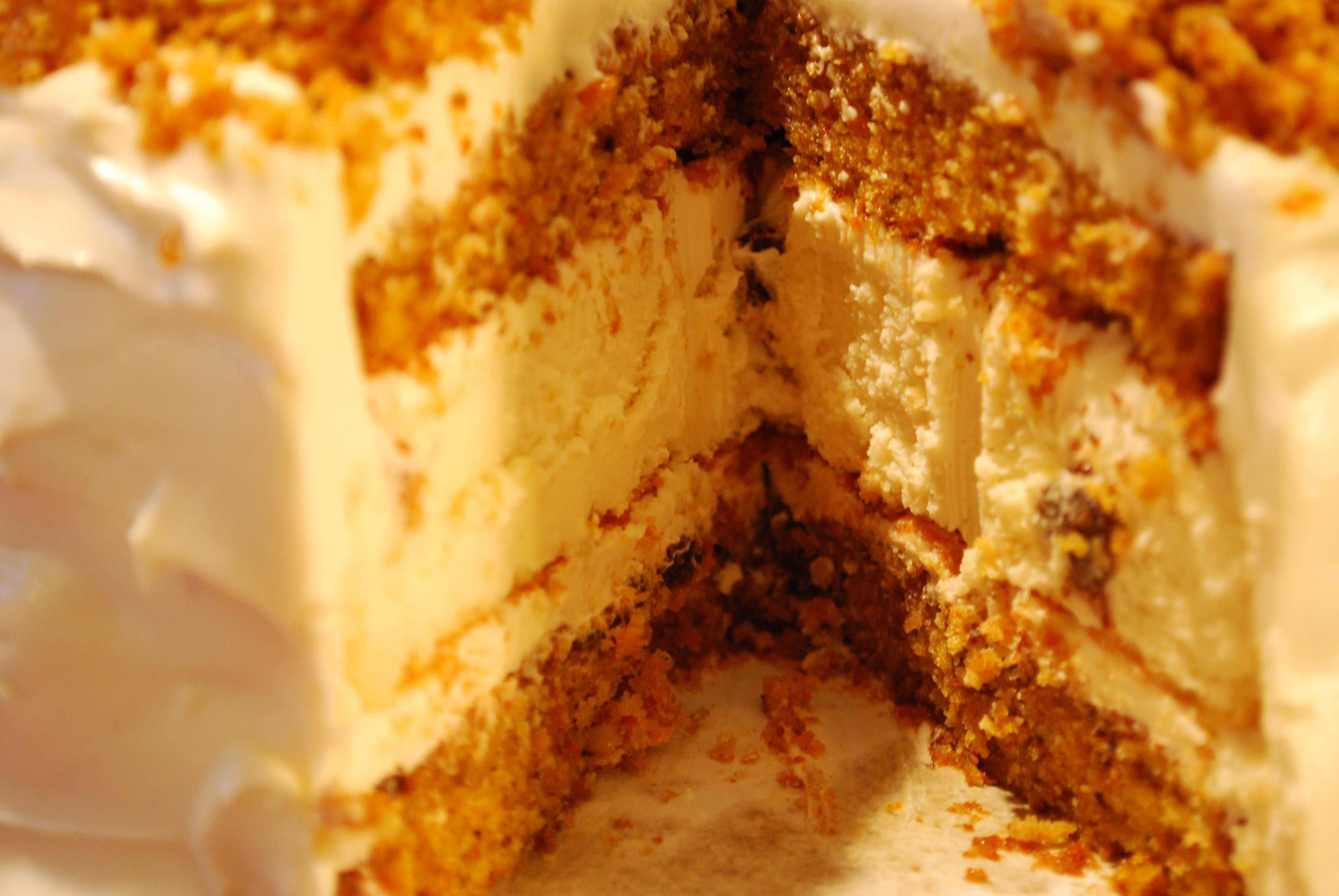 Layer upon layer of cheesecake heaven!