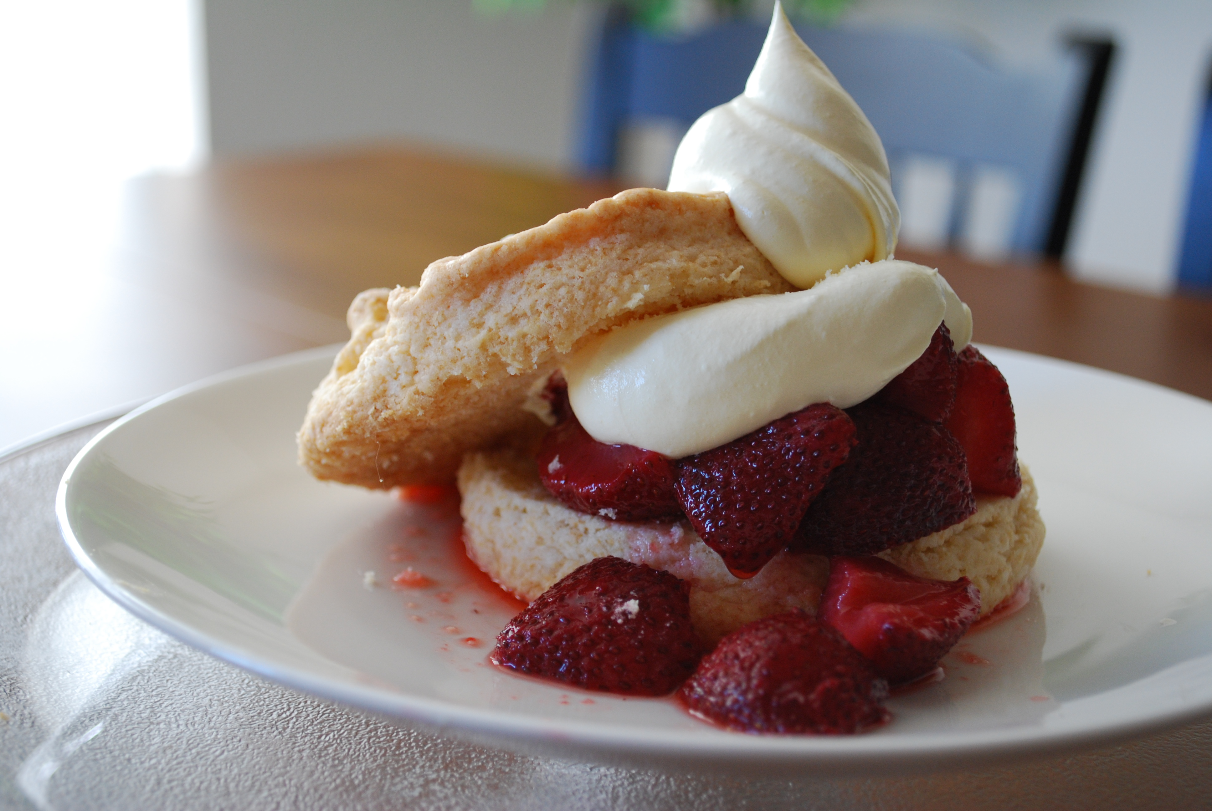 Strawberry Shortcake with French Vanilla Whipped Cream