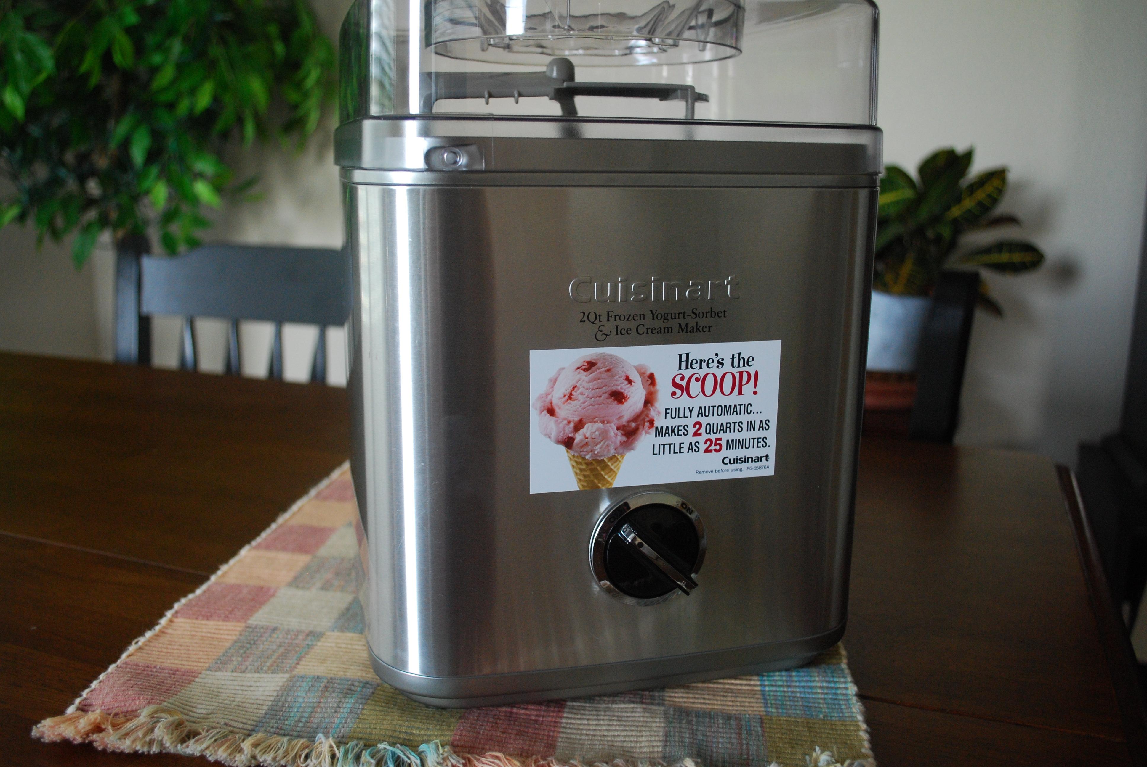 Cuisinart 2 Quart Ice Cream Maker