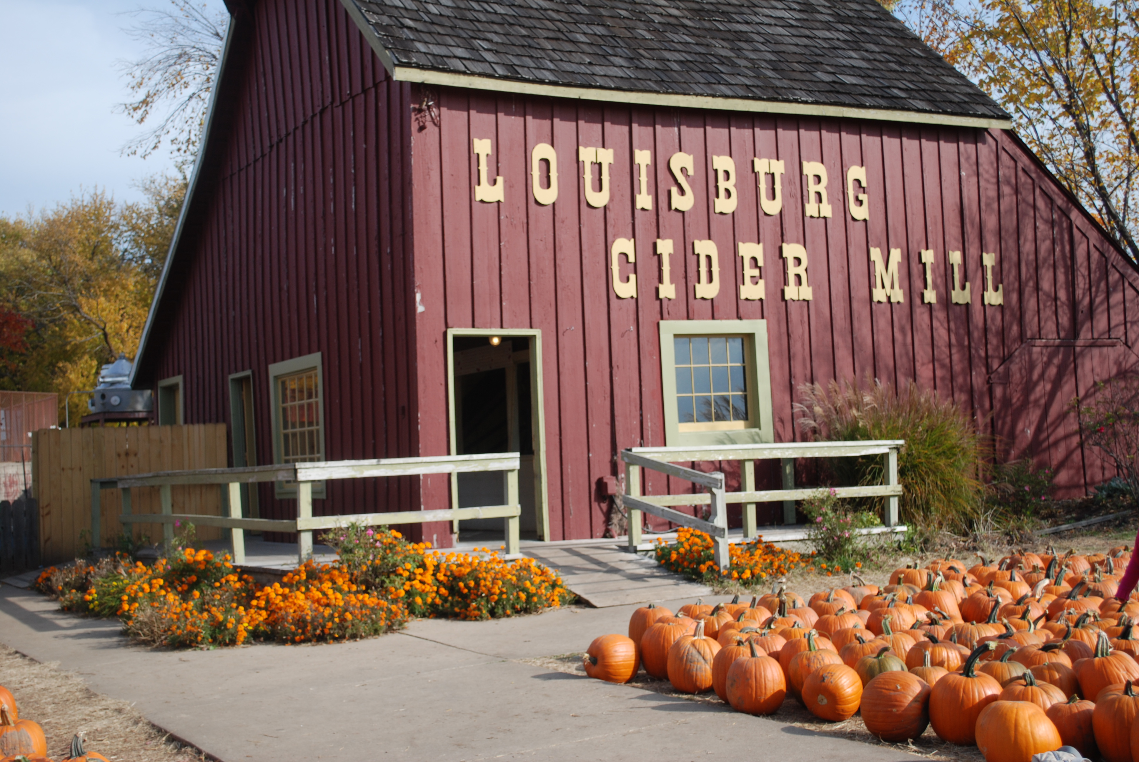Louisburg Cider Mill ... home of the best Apple Cider Doughuts!