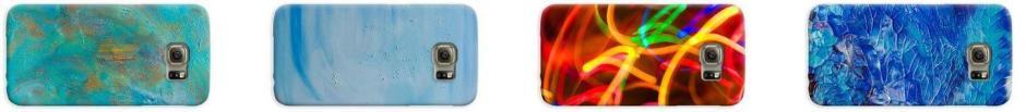 custom galaxy phone cases by artist deb breton