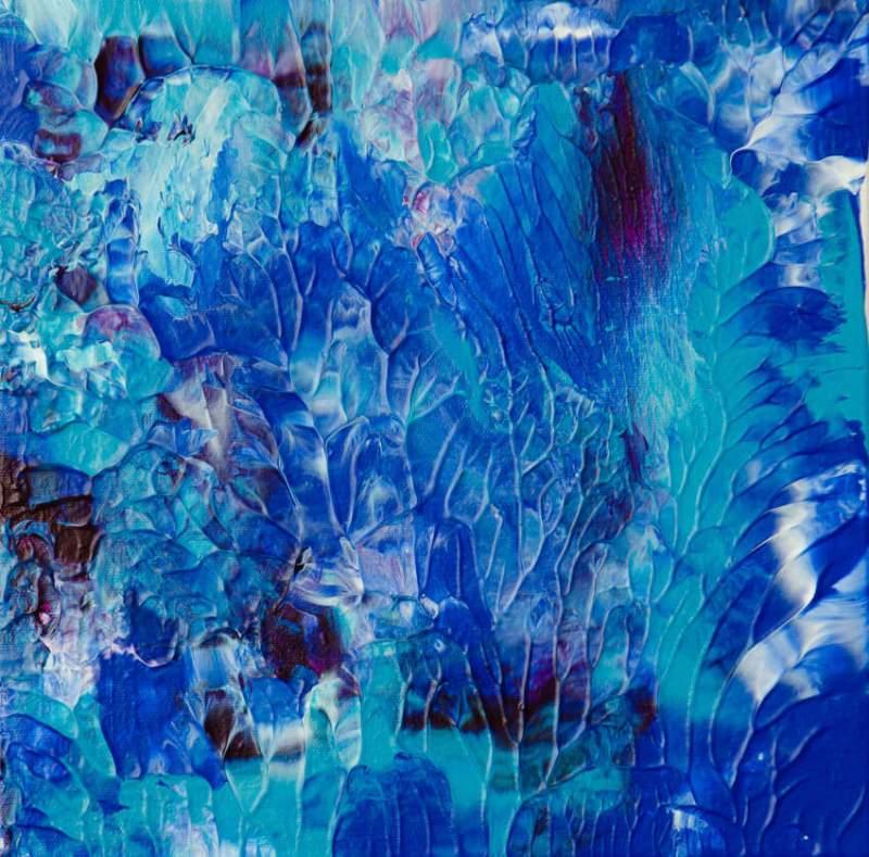 underwater reef painting