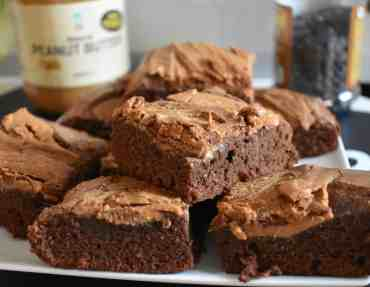 Chocolade Pindakaas Brownies