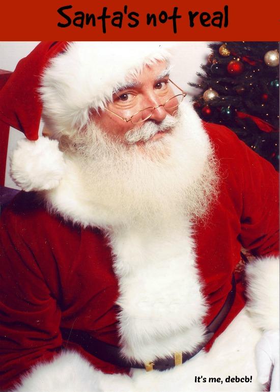 Santa's not real