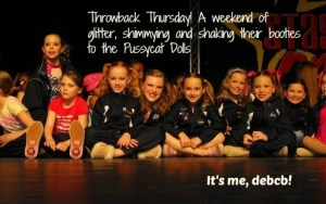 Throwback Thursday- Dance Competition Memories