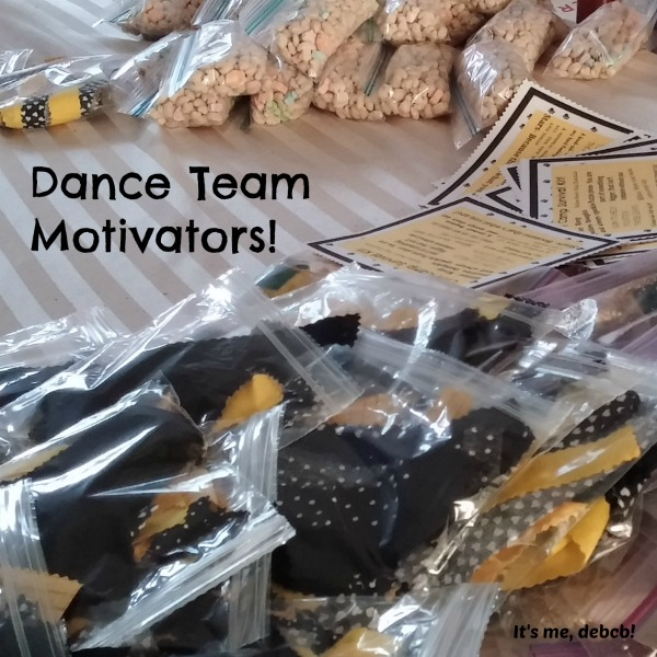 Dance Team Motivators- It's me, debcb!