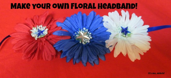 Make your own Floral Headband
