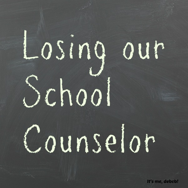 Losing the school counselor