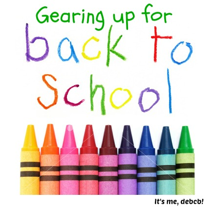 Gearing up for back to school