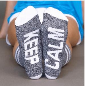 Arthur George Keep Calm Socks