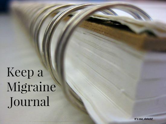 Keep a Migraine Journal