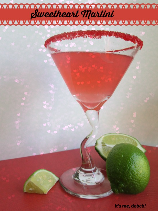 Sweetheart Martini- It's me, debcb!