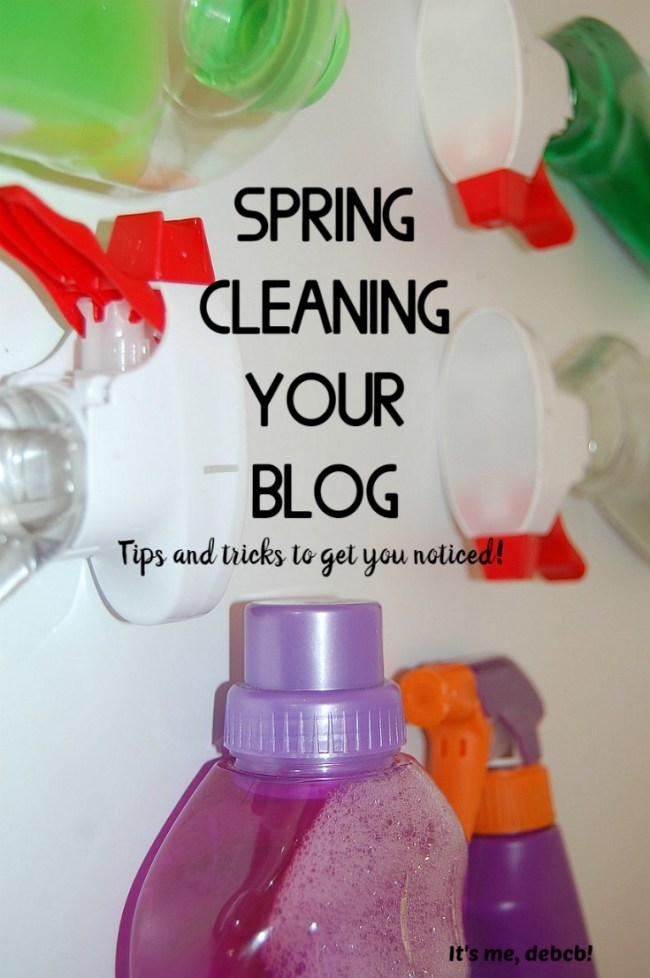 Spring Cleaning Your Blog
