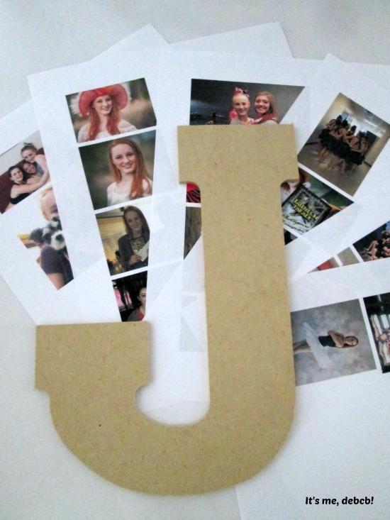 Decoupage pictures- It's me, debcb!