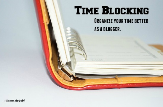Time Blocking for a Blogger