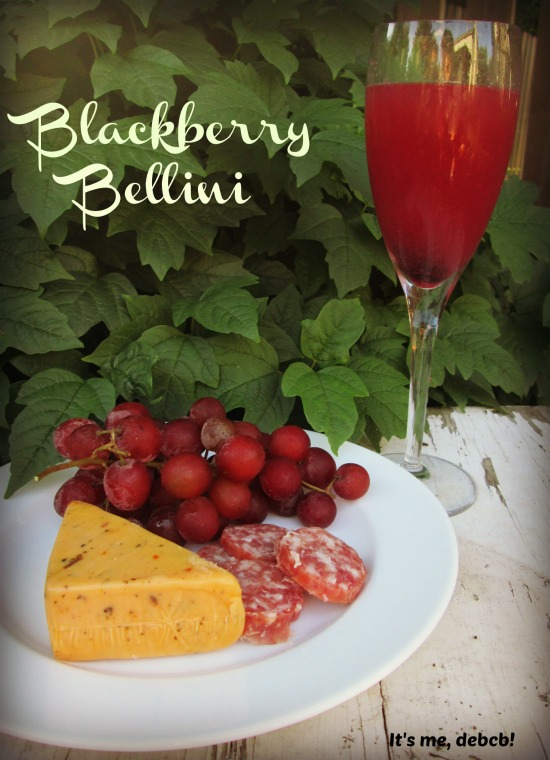 Blackberry Bellini- It's me, debcb!
