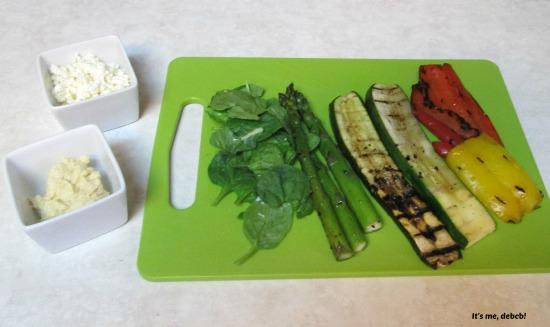 Grilled Vegetable Wrap Ingredients