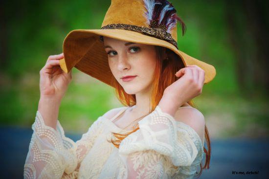 Jaiden in the magic hat