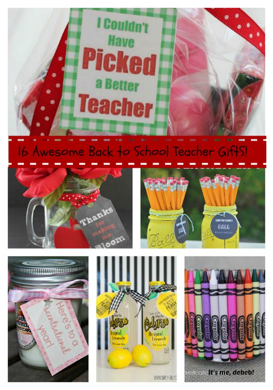 16 Awesome Back to School Teacher Gifts