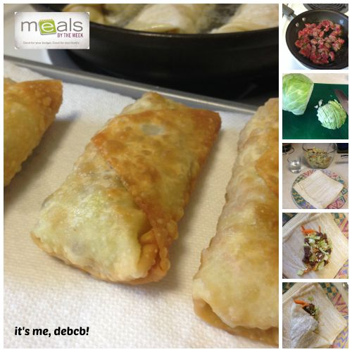 Home made eggrolls are easier than you think.