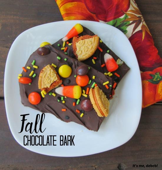 Fall Chocolate Bark