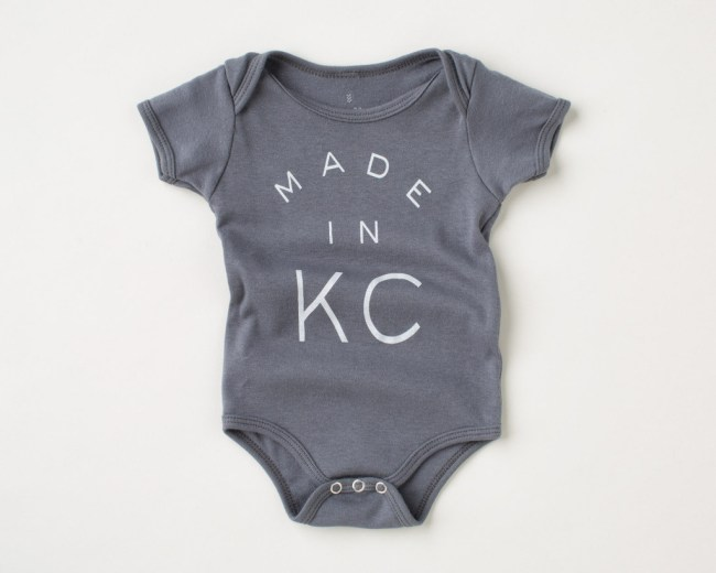 Sandlot Goods Made in KC Onesie