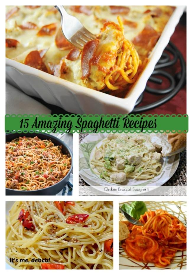 15 Amazing Spaghetti Recipes