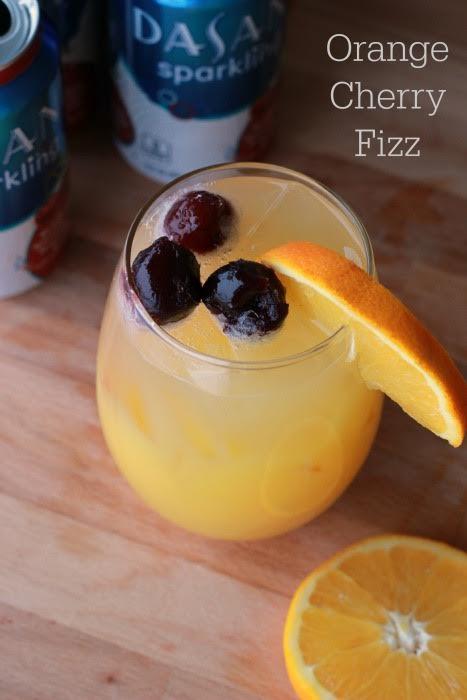 Orange Cherry Fizz