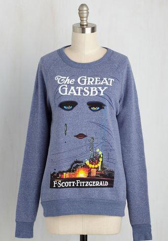 Novel Tee Sweatshirt in Jay