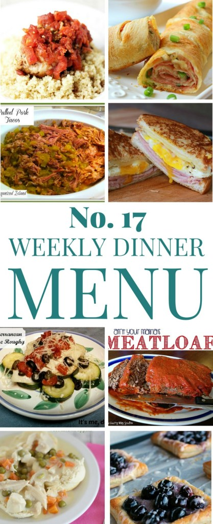 What's for dinner (Menu 17)