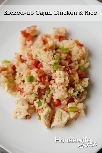 Kicked-up Cajun Chicken & Rice