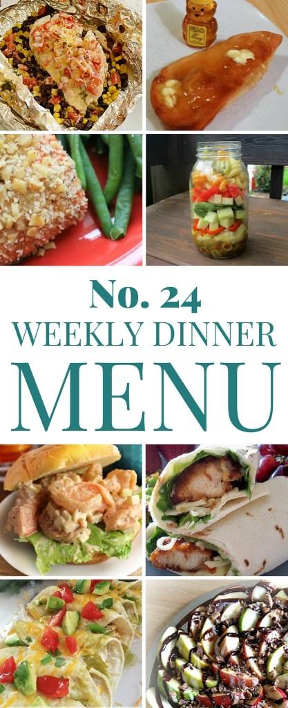 Dinner menu 24