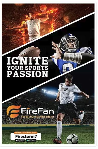 FireFan for your sports fan