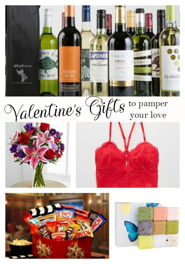 Valentine's Gifts to Pamper your Loved One
