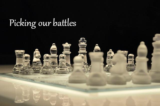 Image result for picking our battles