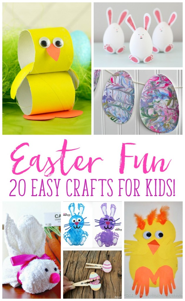 fun easter crafts easter crafts that your kids will love its me debcb
