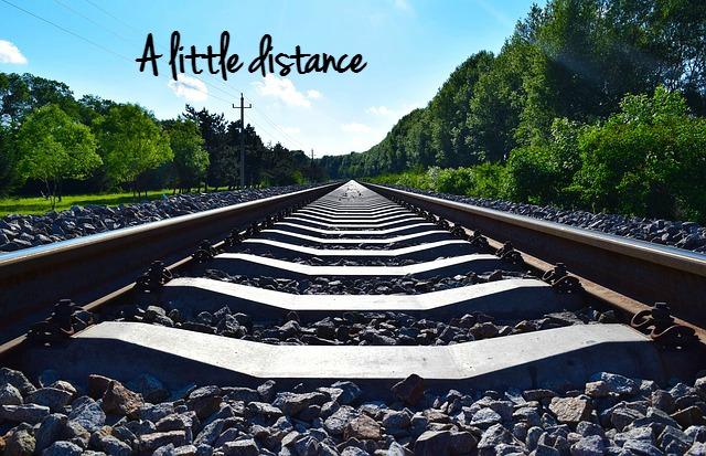 A little distance please