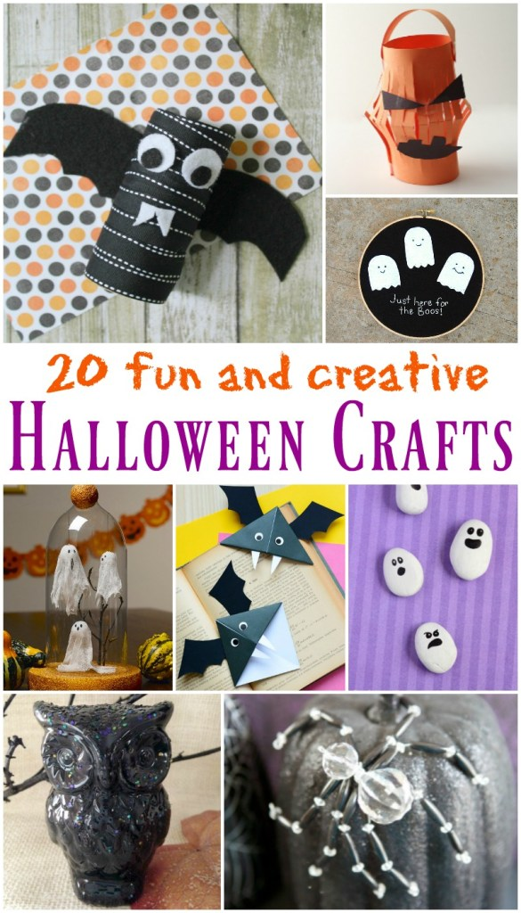 20 Fun and Creative Halloween Crafts