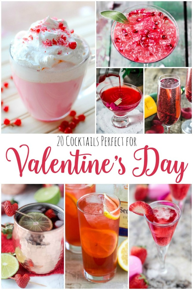 Valentine's Day cocktails