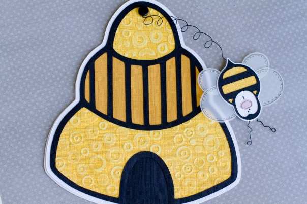 Buzz the Bee and his hive