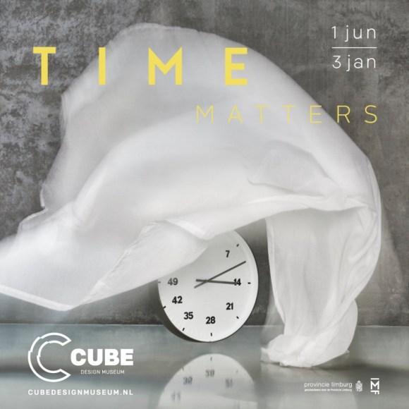 Cube design museum - expositie Time Matters - square