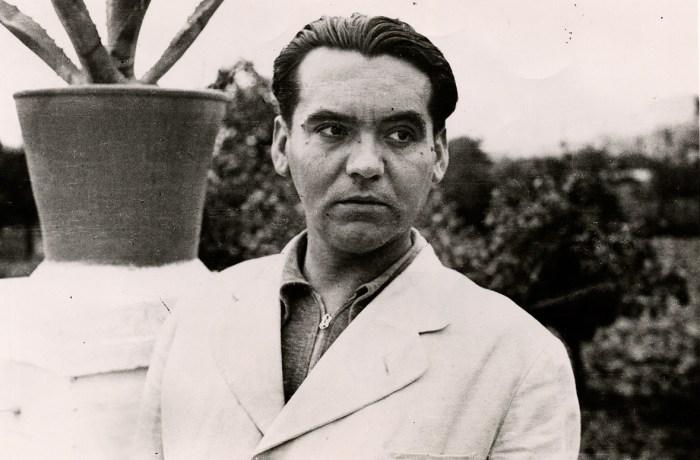 portret van Garcia Lorca