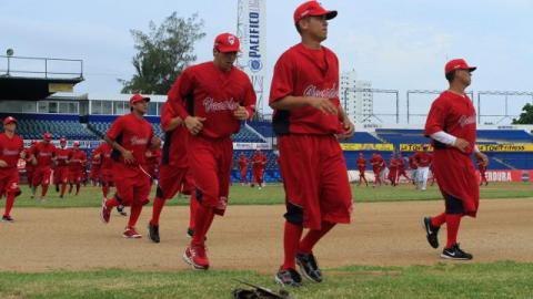 Segundo día de entrenamientos de pretemporada de Venados de Mazatlán