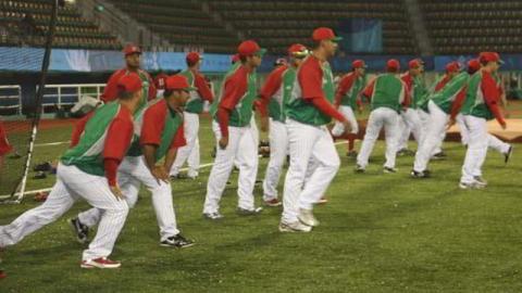 Entrenamiento de la selección de México de los Juegos Panamericanos