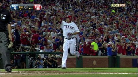 Nelson Cruz de Rangers de Texas