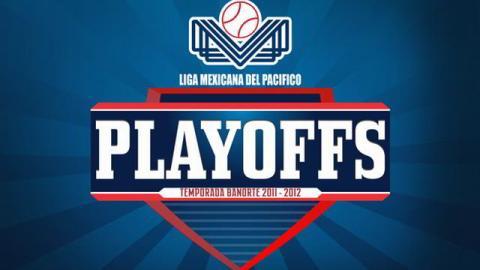 Logotipo de los play offs 2011-2012 de la Liga Mexicana del Pacífico