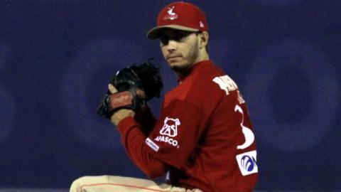 Miguel Ángel González, pitcher de Venados de Mazatlán
