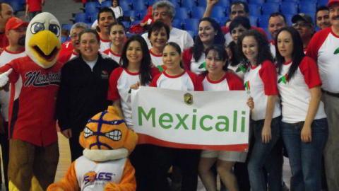 Lucho El Aguilucho en encuentro deportivo de sindicaturas municipales