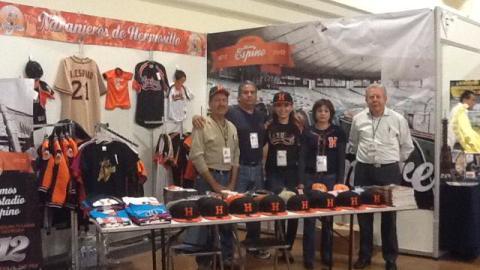 Naranjeros de Hermosillo en la Expo Tour 2012