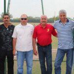 Homar Rojas y su cuerpo técnico visitó la Academia